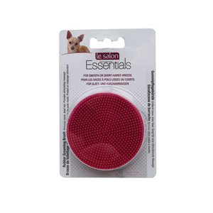 LS Essentials Rubber Grooming Brush-V