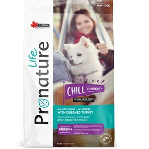 PRONATURE LIFE CHIEN  CHILL DINDE 11.3KG