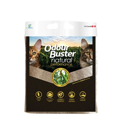 ODORBUSTER LITIERE VEGETALE SUPER ABSORBANTE 7kg