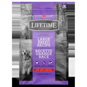 LIFETIME CHIEN GRANDE RACE POULET / AVOINE 13.6KG
